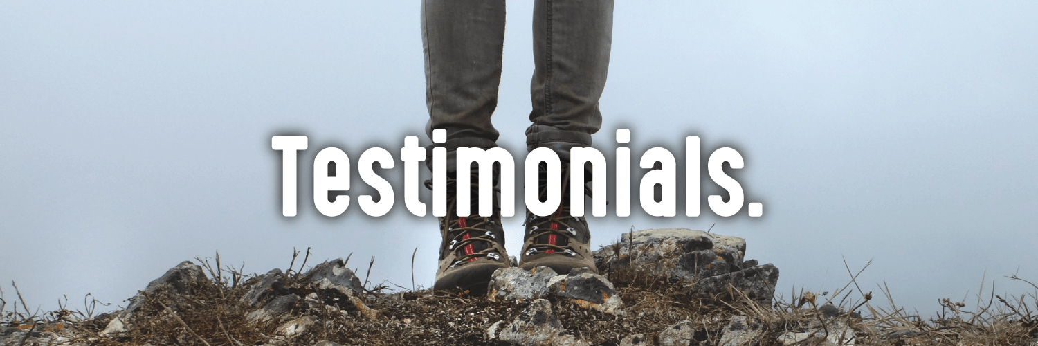 Testimonials to our natural products