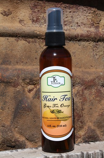 hair tea natural leave-in conditioner